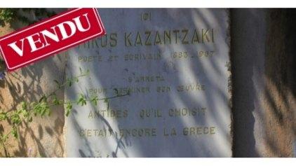 """Διεθνής κινητοποίηση μετά το """"πωλητήριο"""" στο σπίτι του Καζαντζάκη!"""