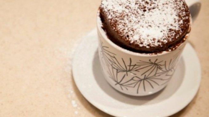 Φτιάξτε το τέλειο κεικ σοκολάτας σε 1 λεπτό!