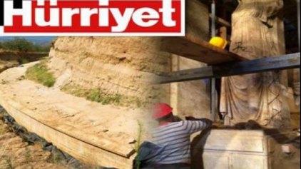 Προκλητικό δημοσίευμα της Χουριέτ για την Αμφίπολη