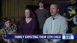 Οικογένεια περιμένει το 13ο της παιδί... και τα άλλα 12 είναι αγόρια
