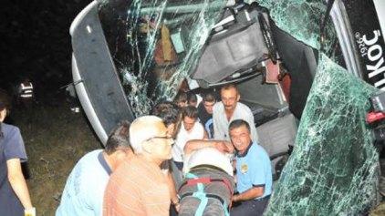 Πολύνεκρο δυστύχημα με λεωφορείο που μετέφερε εργάτες