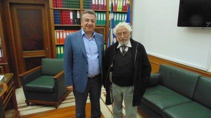 Τον Περιφερειάρχη Κρήτης επισκέφθηκε ο Ευρωβουλευτής Γ. Γραμματικάκης