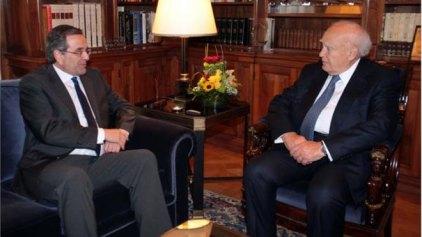 Μετά τις ορκωμοσίες της Δευτέρας η συνάντηση Κάρολου Παπούλια- Αντώνη Σαμαρά