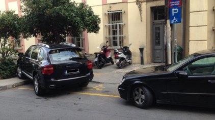 """Ο """"πολιτισμός"""" του παράνομου παρκαρίσματος ..."""