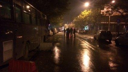 Επίθεση με μολότοφ έξω από το Τουρκικό Προξενείο