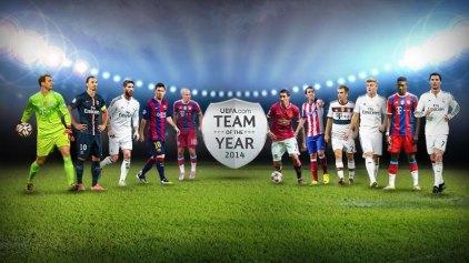 Η ενδεκάδα της χρονιάς από την UEFA