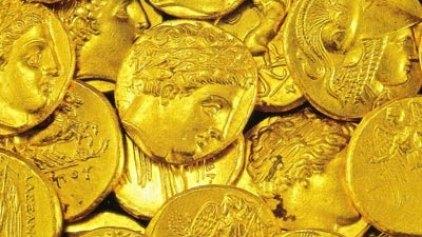 Βρέθηκε αρχαίος τάφος με νομίσματα
