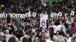 Μαζική διαδήλωση στην Ισπανία από το Podemos