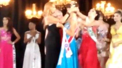 Η χαμένη των καλλιστείων ξεριζώνει το στέμμα από το κεφάλι της νικήτριας!
