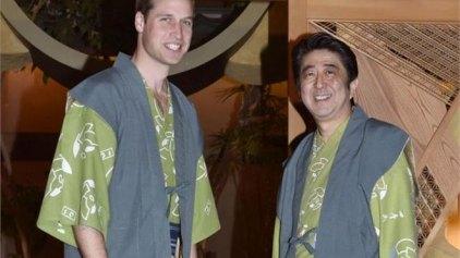 Τόκιο: Ο πρίγκιπας Ουίλιαμ με στολή σαμουράι στο τηλεοπτικό δίκτυο NHK