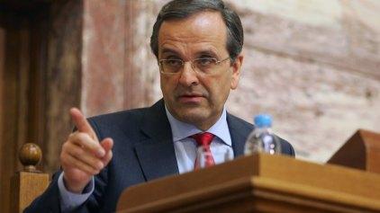 Σαμαράς: «Ο κ. Τσίπρας πρέπει να ντρέπεται»