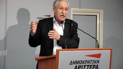 Αποχωρεί ο Φώτης Κουβέλης: «Η ΔΗΜΑΡ χρειάζεται νέα ηγεσία»