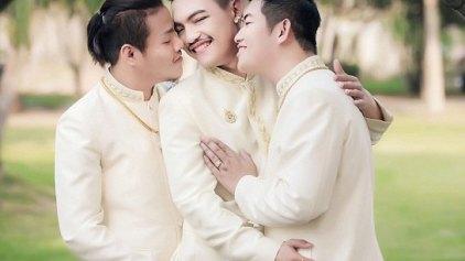 Για πρώτη φορά, τριπλός gay γάμος!