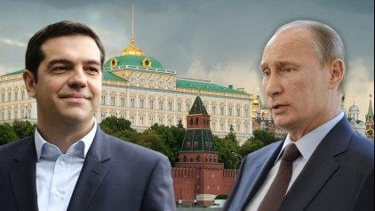 """""""Στην αγκαλιά της Μόσχας η Ελλάδα;"""""""