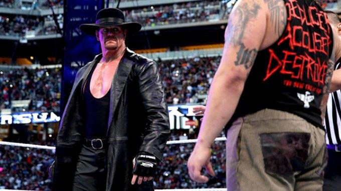 Ο Undertaker επέστρεψε και νίκησε στη Wrestlemania