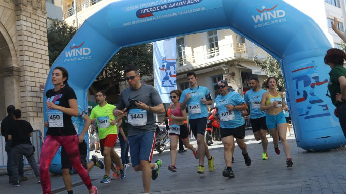 4000 Δρομείς στο Run Greece Ηράκλειο