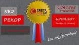 Νέο ρεκόρ για το cretalive.gr!