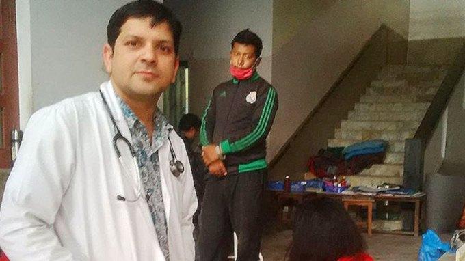Γιατρός αψήφησε τον σεισμό για να σώσει έγκυο από αιμορραγία!