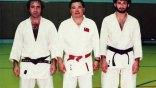 Ο Οσάμα μπιν Λάντεν με στολή του τζούντο