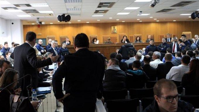 Τον Σεπτέμβριο αλλαγή αίθουσας στη δίκη της Χρυσής Αυγής