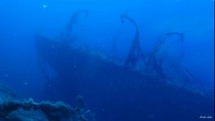 Εντυπωσιακό ναυάγιο στον βυθό της Κρήτης