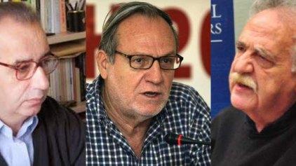 Βεργόπουλος, Ρομπόλης, Μελάς ζητούν από τον Τσίπρα να επιστρέψει στις διαπραγματεύσεις