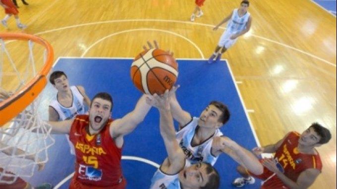 Παγκόσμιο U19: Αργεντινή-Ισπανία 51-75 (Β' Όμιλος)