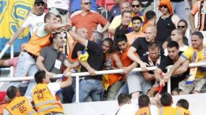 Επεισόδια στα Σκόπια με τους οπαδούς του ΑΠΟΕΛ (photos)