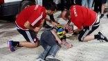 Έσωσε Τούρκο οπαδό το ιατρικό τιμ του Ολυμπιακού (photos)