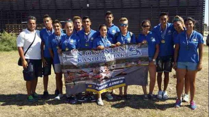 Μεγάλη διάκριση για το Ναυτικό Όμιλο Χανίων στο Κανόε Καγιάκ
