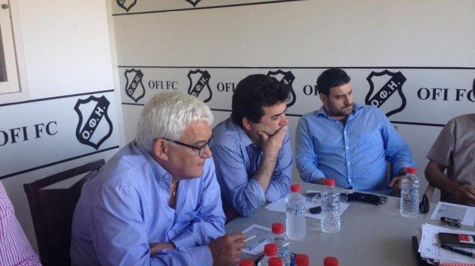 Με δύο νομικούς στην Αθήνα ο ΟΦΗ