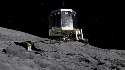 Πληθώρα οργανικών στοιχείων ανακαλύφθηκαν στον κομήτη της «Ροζέτα»