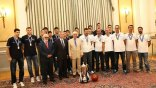 Οι «χρυσοί έφηβοι» τιμήθηκαν από τον Πρόεδρο της Δημοκρατίας