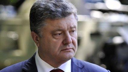 Ποροσένκο: «Μαχαιριά στην πλάτη» οι συγκρούσεις στο Κίεβο