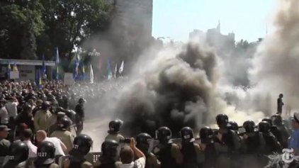 ΟΗΕ και Γαλλία καταδικάζουν τα επεισόδια στην Ουκρανία