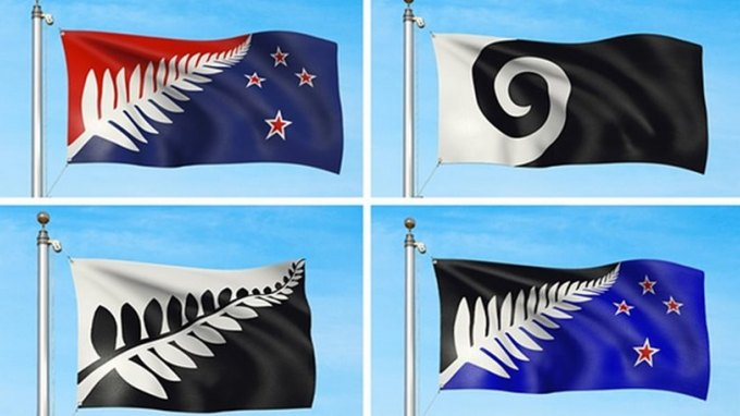 Στη Νέα Ζηλανδία σκέφτονται να αλλάξουν σημαία και εξετάζουν αυτά τα τέσσερα σχέδια...