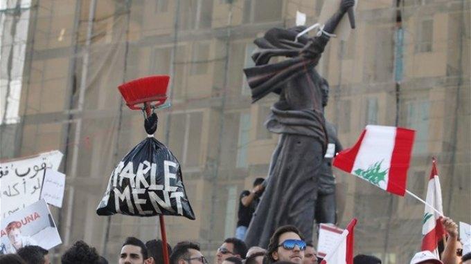 Έφοδος από διαδηλωτές στο υπουργείο Περιβάλλοντος του Λιβάνου