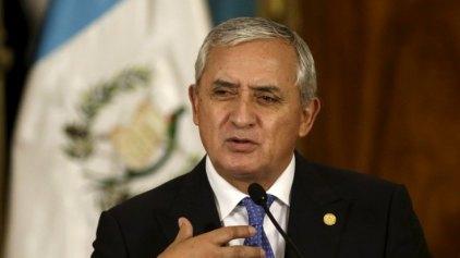 Άρση ασυλίας για τον πρόεδρο της Γουατεμάλας