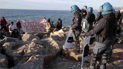 Ιταλία: Εκκένωση προσφυγικού καταυλισμού στα σύνορα με τη Γαλλία