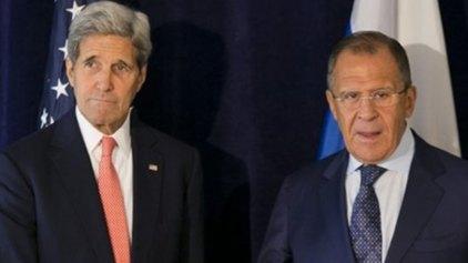 Διαμαρτυρία του Κέρι στον Λαβρόφ για τις αεροπορικές επιθέσεις στη Συρία