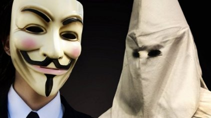 Tην ταυτότητα 1.000 μελών της Κου-Κλουξ-Κλαν θα αποκαλύψουν οι Anonymous