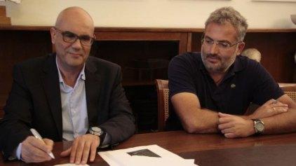 Υπογραφή σύμβασης για έργο αγροτικής οδοποιίας στο Θέρισο