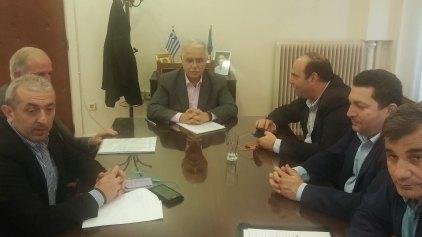 Στον υπουργό αντιπροσωπεία δημάρχων της Κρήτης για τους Φορείς Διαχείρισης Αποριμμάτων