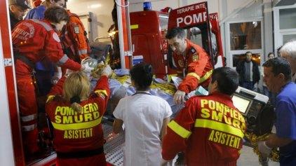 27 νεκροί, 162 τραυματίες από πυρκαγιά σε κλαμπ του Βουκουρεστίου