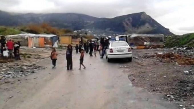 «Ντου» της αστυνομίας στον καταυλισμό των τσιγγάνων