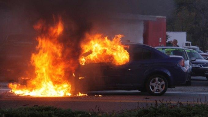 Εμπρησμός σε αυτοκίνητο τα ξημερώματα