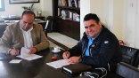 Υπογραφές για τους δρόμους σε Μεταξοχώρι και Δαμάνια