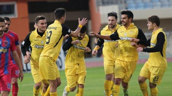 """Ομάδα από """"ατσάλι"""" οι """"κιτρινόμαυροι"""" - Νίκη 1 - 2 στην Κέρκυρα"""