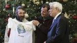 Την εθνική ομάδα αστέγων υποδέχτηκε ο Προκόπης Παυλόπουλος