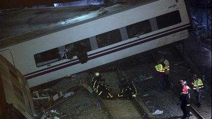 Εμπορικό τρένο εκτροχιάστηκε στην Ισπανία